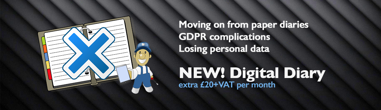 A fully GDPR compliant Digital Diary