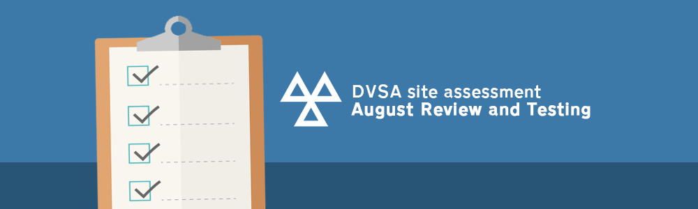 Autumn: New DVSA site assessment
