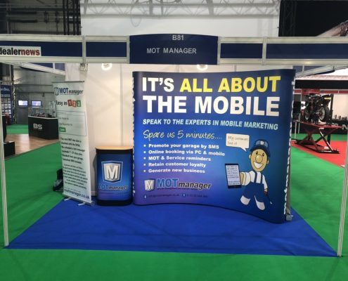 MOT Manager at the Motorcycle Trade Expo