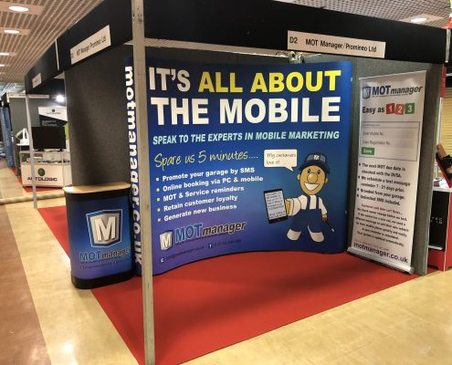 MOT Manager at Mechanex Motor Trade Show